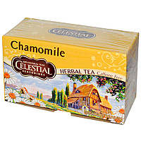 Celestial Seasonings, Травяной чай, без кофеина, ромашка, 20 чайных пакетиков, 0,9 унций (25 г)