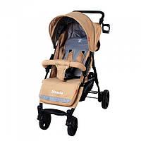 *Коляска детская прогулочная Carrello Strada Beige CRL-7305