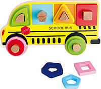 Деревянный Школьный автобус с фигурками Legler