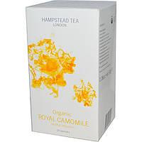 Hampstead Tea, Organic, королевская ромашка, успокоительная настойка, 20 саше, 1,06 унции (30 г)