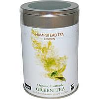 Hampstead Tea, Натуральный этически продаваемый зеленый чай, 3.53 унции (100 г)