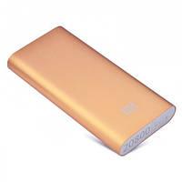 Внешний аккумулятор Power Bank Xiaomi (20800 mAh) Золотой