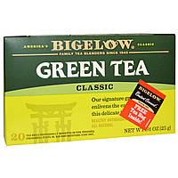Bigelow, Классический зеленый чай, 20 чайных пакетиков, 25 г