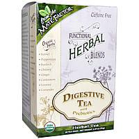 Mate Factor, Органические детоксирующие травяные смеси, чай с пребиотиками для улучшения пищеварения, 20 пакетиков, (3,5 г) каждый