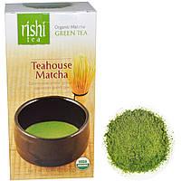 Rishi Tea, Teahouse Matcha, Органический зеленый чай маття, 0,70 унции (20г)