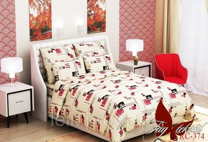 Двуспальный комплект постельного белья RC374