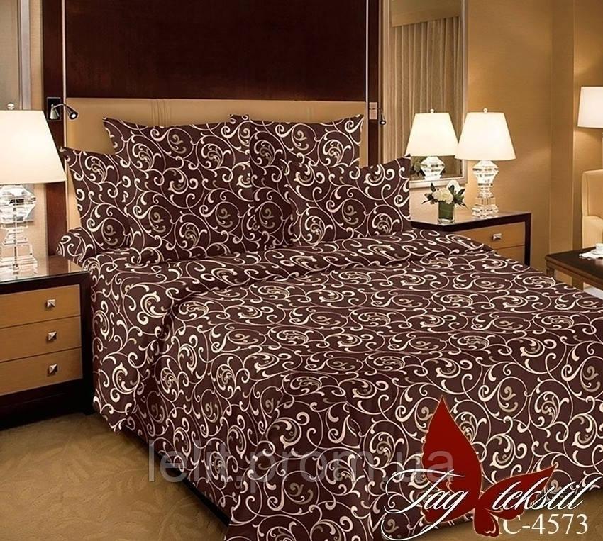 Двуспальный комплект постельного белья RC4573braun
