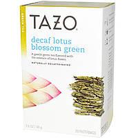 Tazo Teas, Зеленый чай из соцветий лотоса без кофеина, 20 фильтрующих пакетиков, 1.6 унций (48 г)