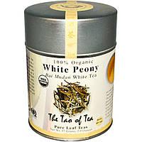 The Tao of Tea, Органический белый чай Бай Мудан, белый пион, 2 унции (57 г)