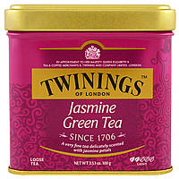 Twinings, Of London, Loose Tea, Jasmine Green Tea, 3.53 oz (100 g)