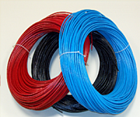 Гибкая капиллярная трубка ПВХ Refflex DN2 красная