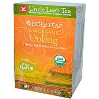 Uncle Lees Tea, 100% органический чай улун, крупнолистовой, 18 пакетиков, 36 г
