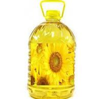 Подсолнечное рафинированное масло, 5л