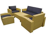 Комплект меблів з ротанга № 26
