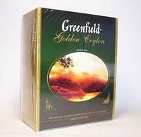 Чай Greenfield Golden Ceylon 2грх100п.