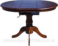 Купить круглый кухонный стол, 3605-2, цвет темный орех