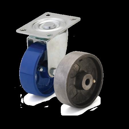 Термостойкие колеса для тележек из чугуна. Нагрузка 250 - 1250 кг. t -60/+500С.Серия 72