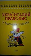 Український правопис в таблицях і схемах.