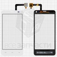 Тачскрин (сенсор) для мобильного телефона Fly IQ4416, original, белый