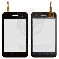 Тачскрин (сенсор) для мобильного телефона Fly IQ255 Pride, черный