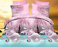 Двуспальный набор постельного белья Ранфорс №270