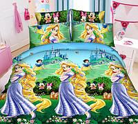 Полуторный набор постельного белья из Ранфорса №268 Черешенка™