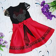 Нарядное платье на девочку на 4-6 лет