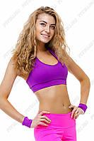 Спортивные напульсники (фиолетовый)