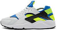 Мужские кроссовки Nike Air Huarache (Найк Хуарачи) белые
