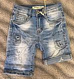 Джинсові шорти для дівчаток 8-16 років, фото 3