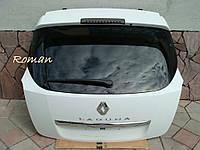 Крышка багажника ляда Рено Лагуна 3 универсал