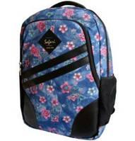Рюкзак 2 відділення 43*30*18см з відділ. для ноутбуку синій SAFARY