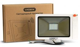 LED прожектор VIDEX Slim Sensor 20W 5000K White