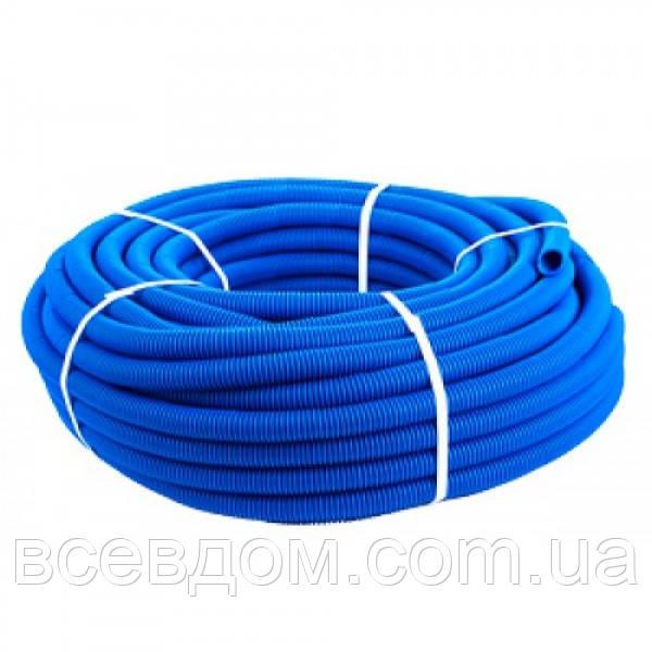 Гофротруба защитная 36,5/44,5 мм (для труб 32 мм) синяя
