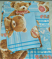 Детский комплект постельного белья (БЯЗЬ. Беларусь)
