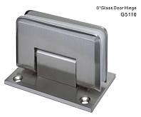 Петля стена-стекло с фиксацией   0°, 35 кг, 6-10mm