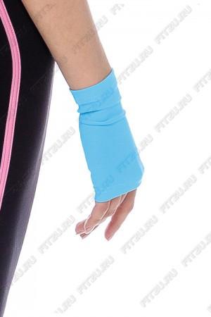 Рукава короткие | Перчатки голубые