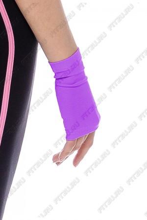 Рукава короткие | Перчатки фиолетовые