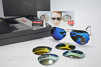 ОЧКИ RAY-BAN AVIATOR Flip Out