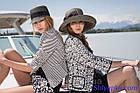 Шляпа мягкая с украшением в виде банта голубая, фото 6