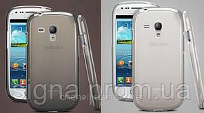 Силиконовый чехол Remax для Samsung Galaxy S3 Mini i8190 + пленка