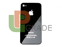 Задняя крышка для iPhone 4 черная, копия