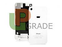 Задняя крышка для iPhone 4S белая, копия