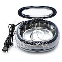Стерилизатор ультразвуковой Ultrasonic Cleaner VGT-2000 на 35 Вт и 600 мл, фото 2