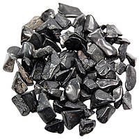 Камни для декора Агат Чёрный (7-11 мм) 100 грамм