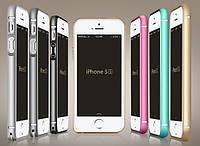Алюминиевый чехол бампер для iPhone 5 5S SE
