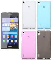 Силиконовый чехол для Huawei Ascend P7