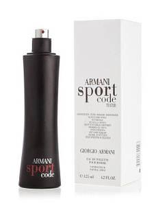 Armani Sport Code (Армани Спорт Код), мужской тестер без крышки