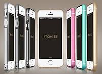 Алюминиевый чехол бампер для iPhone 4 4S