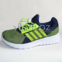 Детские кроссовки для девочки легкие салатовые модель 31р., фото 3